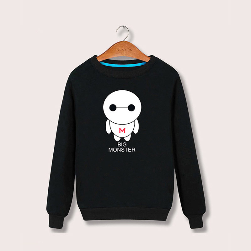 Autumn new men's pullover, printed coat, Korean version, simple and versatile fashion, boys' clothes
